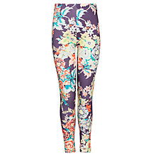 Buy John Lewis Girl Flower Print Leggings, Multi Online at johnlewis.com