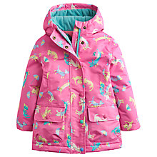 Buy Little Joule Girls' Kristie Cats and Dogs Jacket Online at johnlewis.com