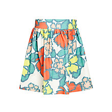 Buy Kin by John Lewis Girls' Floral Print Jersey Skirt, Multi Online at johnlewis.com