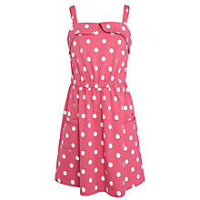 Buy John Lewis Girl Spot Jersey Sun Dress Online at johnlewis.com