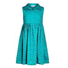 Buy John Lewis Girl Broderie Cotton Lace Dress Online at johnlewis.com