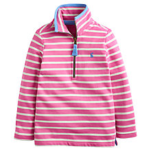 Buy Little Joule Girls' Fairdale Stripe Sweatshirt, Pink Online at johnlewis.com