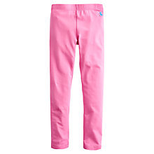 Buy Little Joule Girls' Emelia Leggings, Pink Online at johnlewis.com