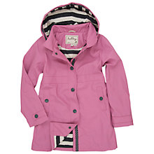 Buy Hatley Girls' Splash Jacket, Orchid Lilly Online at johnlewis.com