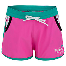 Buy Platypus Girls' Watermelon UV Board Shorts, Pink Online at johnlewis.com