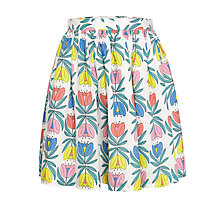 Buy John Lewis Girl Upside Down Flower Skirt, Multi Online at johnlewis.com