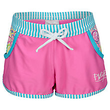 Buy Platypus Girls' Paisley UV Board Shorts, Pink Online at johnlewis.com