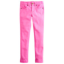 Buy Little Joule Girls' Linnet Skinny Jeans, Neon Pink Online at johnlewis.com
