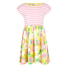 Buy John Lewis Girl Stripe & Floral Dress Online at johnlewis.com