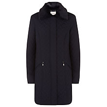 Buy Windsmoor Basket Weave Quilted Coat Online at johnlewis.com