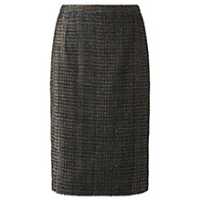 Buy Jigsaw Tweed Pencil Skirt, Bronze Online at johnlewis.com