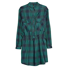 Buy Mango Check Shirt Dress Online at johnlewis.com