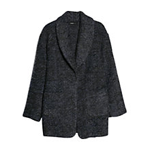 Buy Mango Boucle Mohair Blend Coat Online at johnlewis.com