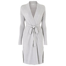 Buy L.K. Bennett Rubia Ripple Stitch Cardigan, Melange Online at johnlewis.com