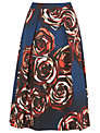 L.K. Bennett Joe Rose Print Full Skirt, Rose