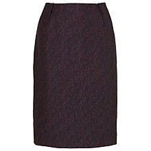 Buy L.K. Bennett Belvis Tweed Skirt, Navy Tweed Online at johnlewis.com