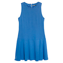 Buy Mango Flared Ponte Dress, Medium Blue Online at johnlewis.com