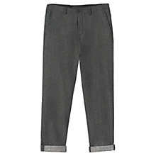 Buy Jigsaw Wool Denim Cinch Back Trousers Online at johnlewis.com