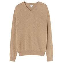 Buy Jigsaw Cashmere V-Neck Jumper Online at johnlewis.com