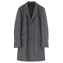 Buy Jigsaw Herringbone Wool Blend Coat, Grey Online at johnlewis.com