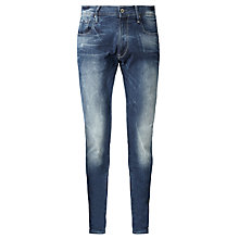Buy G-Star Raw 3301 Super Slim Jeans, Medium Aged Online at johnlewis.com