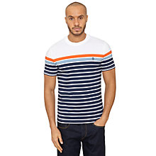 Buy Original Penguin En Board Striped T-Shirt, Multi Online at johnlewis.com