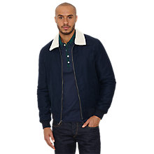 Buy Original Penguin Sherpa Jacket, Navy Online at johnlewis.com
