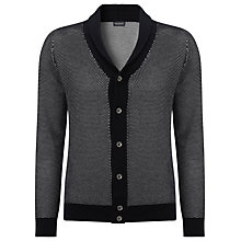Buy John Smedley Pacific Shawl Neck Cardigan, Navy Online at johnlewis.com