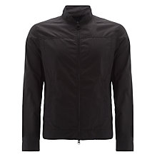 Buy Barbour International Cager Casual Jacket, Black Online at johnlewis.com