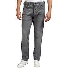 Buy G-Star Raw 3301 Tapered Sandford Jeans, Night Online at johnlewis.com