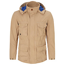 Buy Barbour Greatcoat Rig Casual Jacket, Stone Online at johnlewis.com