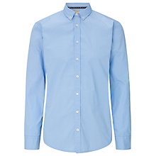 Buy BOSS Orange Edipoe Mini Circle Shirt, Blue Online at johnlewis.com