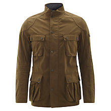 Buy Barbour International Lock Seam Jacket, Dark Sand Online at johnlewis.com
