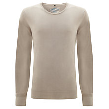 Buy Barbour Laundered Crew Neck Jumper Online at johnlewis.com