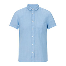 Buy BOSS Orange Short Sleeve Ezippo Linen Shirt Online at johnlewis.com