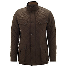 Buy Barbour International Ariel Profile Quilted Jacket, Olive Online at johnlewis.com