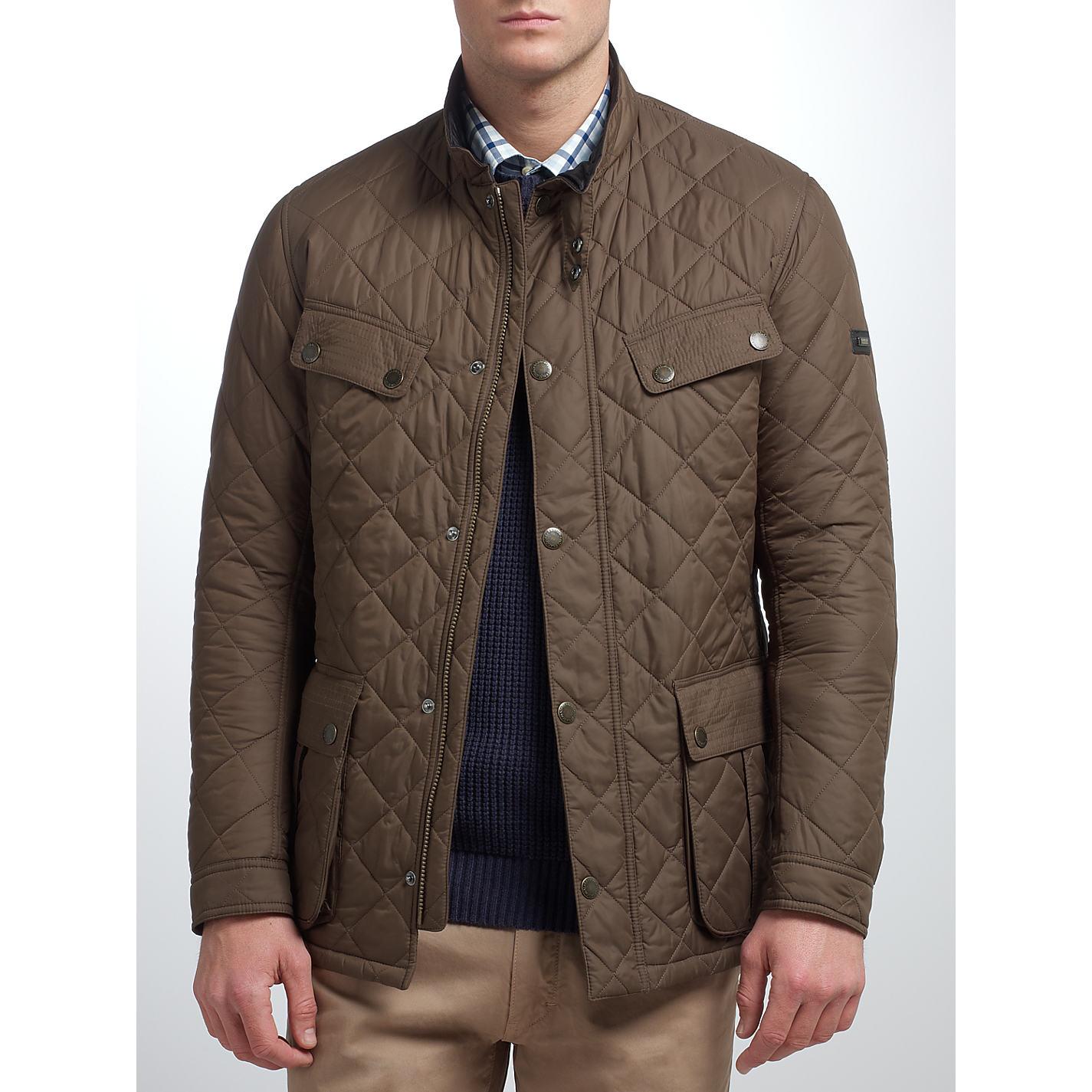 mens barbour padded international jacket. Black Bedroom Furniture Sets. Home Design Ideas