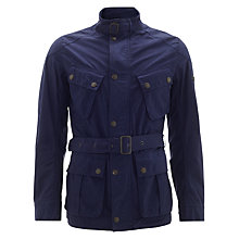Buy Barbour International Barbane Casual Jacket, Deep Blue Online at johnlewis.com