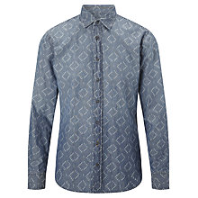 Buy BOSS Orange ExtremeE Block Shirt, Blue Online at johnlewis.com