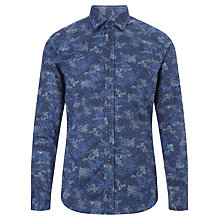 Buy BOSS Orange Extremee Digital Camo Cotton Shirt, Navy Online at johnlewis.com