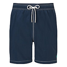 Buy Hackett London Solid Swim Shorts, Navy Online at johnlewis.com
