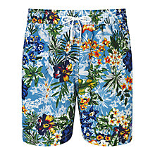 Buy Hackett London Tropical Swim Shorts, Multi Online at johnlewis.com