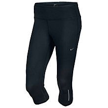 Buy Nike Epic Run Running Capris, Black Online at johnlewis.com