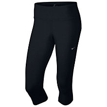 Buy Nike Epic Lux Women's Cropped Running Tights, Black Online at johnlewis.com