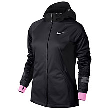 Buy Nike Shield Max Running Jacket, Dark Ash/Black Online at johnlewis.com