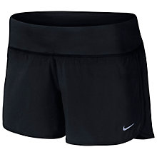 "Buy Nike Women's Rival 4"" Running Shorts, Black Online at johnlewis.com"