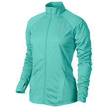 Buy Nike Element Shield Full-Zip Running Jacket, Bleached Turquoise Online at johnlewis.com