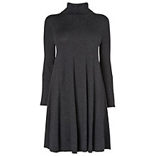 Buy Phase Eight Melody Swing Knitted Dress, Charcoal Marl Online at johnlewis.com