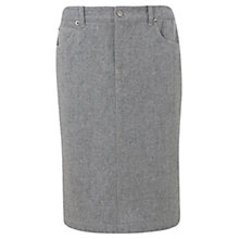 Buy Mint Velvet Pencil Skirt, Silver Grey Online at johnlewis.com