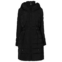 Buy Phase Eight Hattie Hooded Puffa Coat, Black Online at johnlewis.com